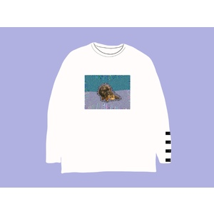 [受注販売] GOGO WICKET ESA SANPO LONG T-Shirt / white