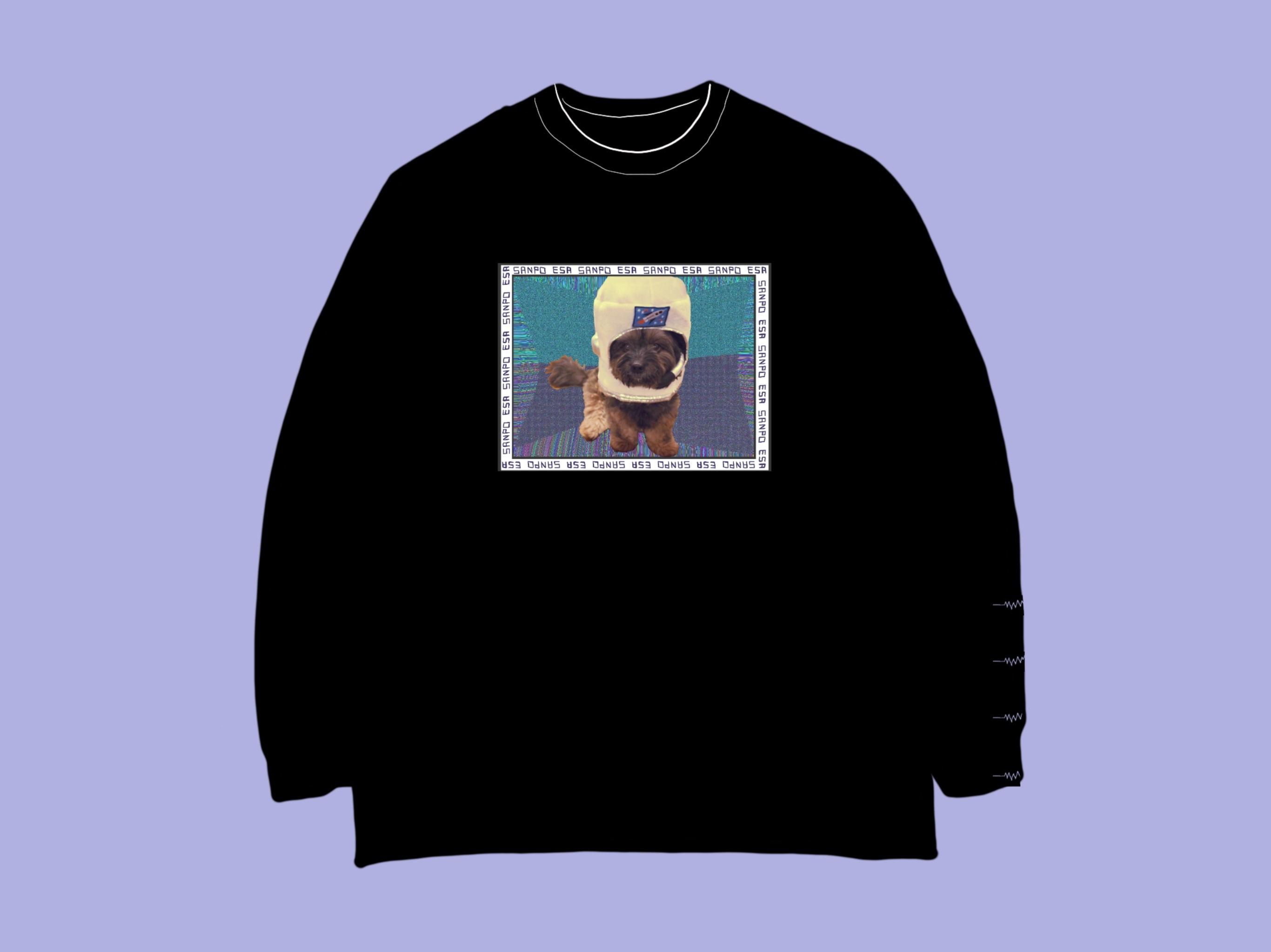 [受注販売] GOGO WICKET ESA SANPO LONG T-Shirt / black