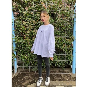 Metal logo long sleeve T-shirts