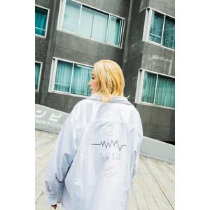 SUSU Original 5th Anniversary 2XL flannel white shirt