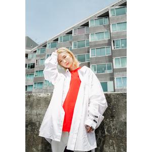 SUSU Original 5th Anniversary 7XL flannel white shirt