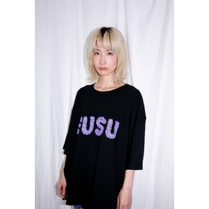 Nuef 毛 T-shirt BLACK